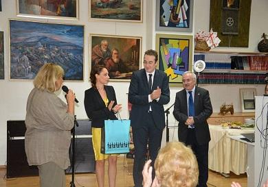 """""""Γνωρίστε την πατρίδα μου"""" από την σύζυγο του Γεωργιανού πρέσβη"""