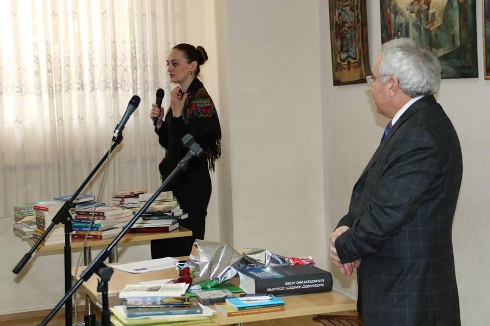 Βραδιές λογοτεχνίας με την Κέτι Νιζαράτζε